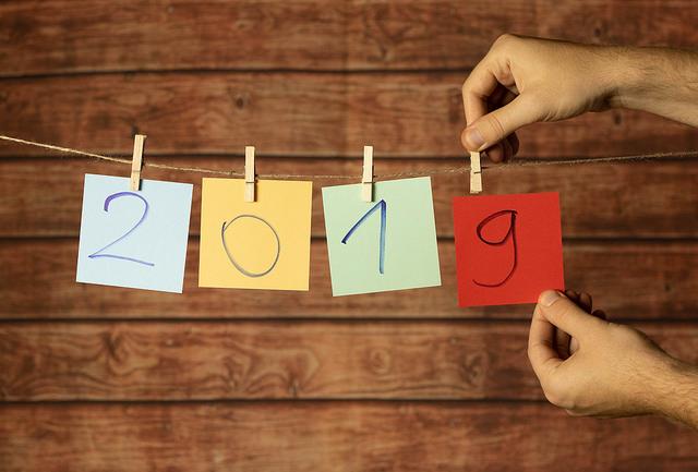 7 Free Printable 2019 Calendars