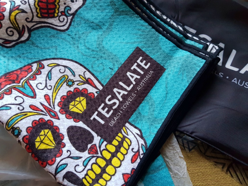 Sand Free Beach Towel + 15% Discount Code| Tesalate Review