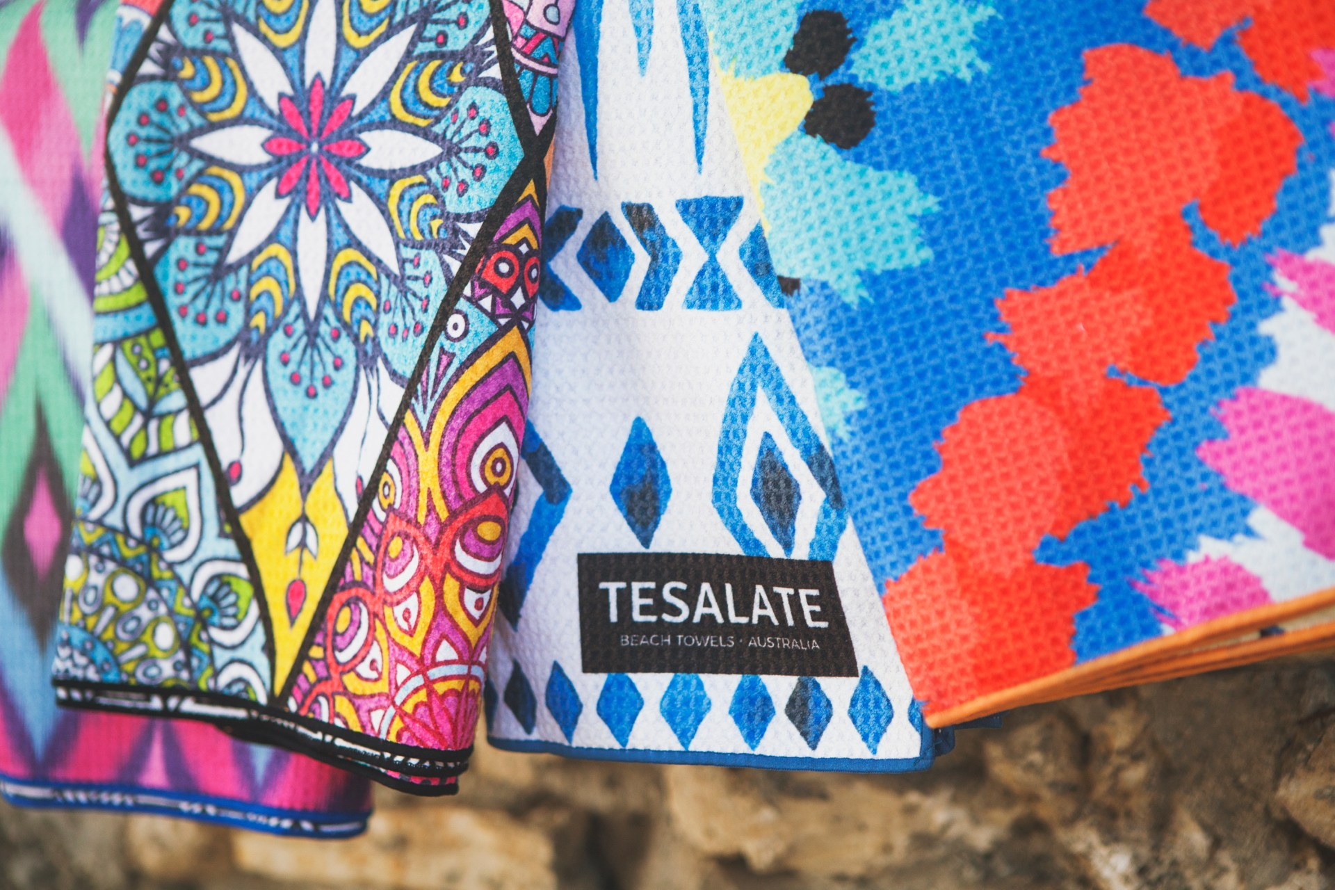 Get a 15% off using my discount Code on a new sand-free towel | Tesalate
