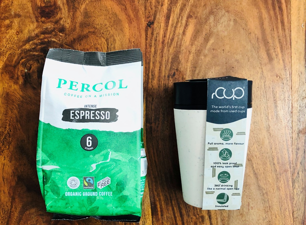 Win A Low Impact Coffee Bundle | Percol Ground Espresso Coffee + a rCUP Reusable Cup