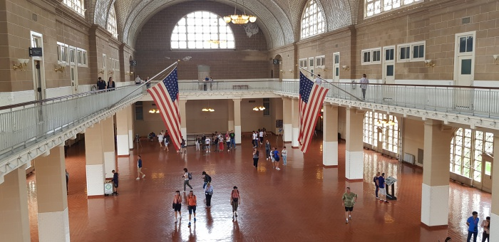 Visiting Ellis Island Immigration Museum and Statue of Liberty
