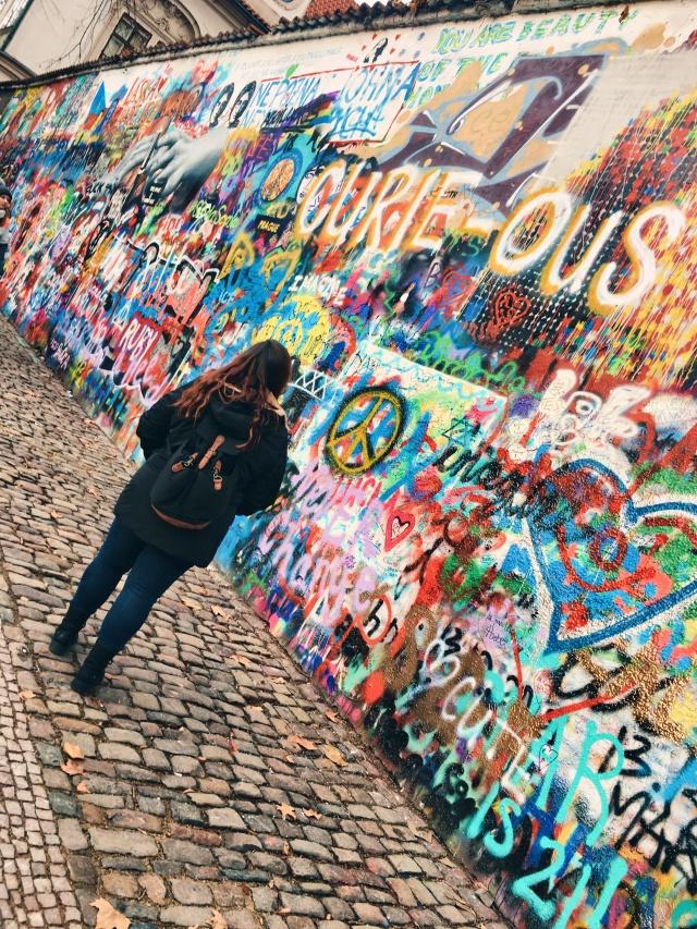 Kristina John Lennon wall.JPG