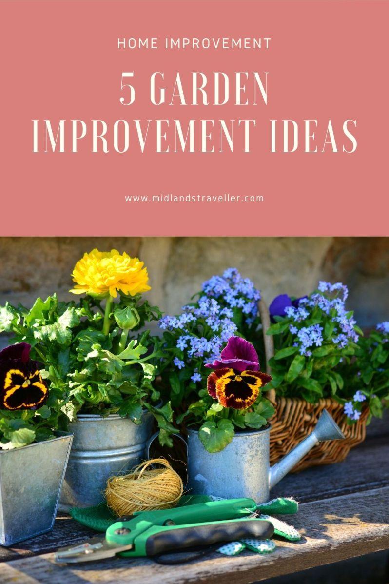 5 Garden Improvement Ideas