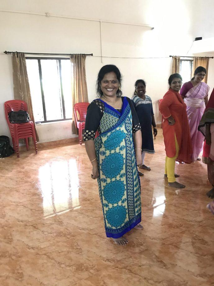 Secret Sari Dress Training Peace Valley Kerala - September 2017 (11)