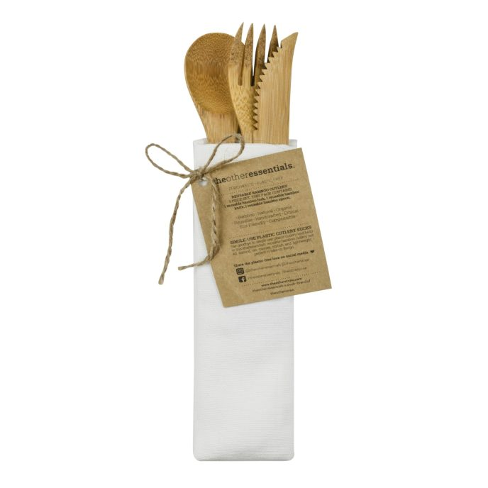 Bamboo cutlery pack 02