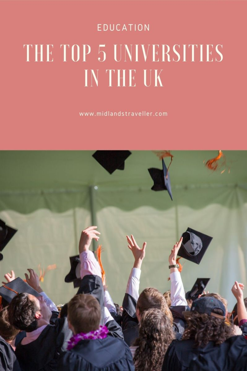 The Top 5 Universities in the UK