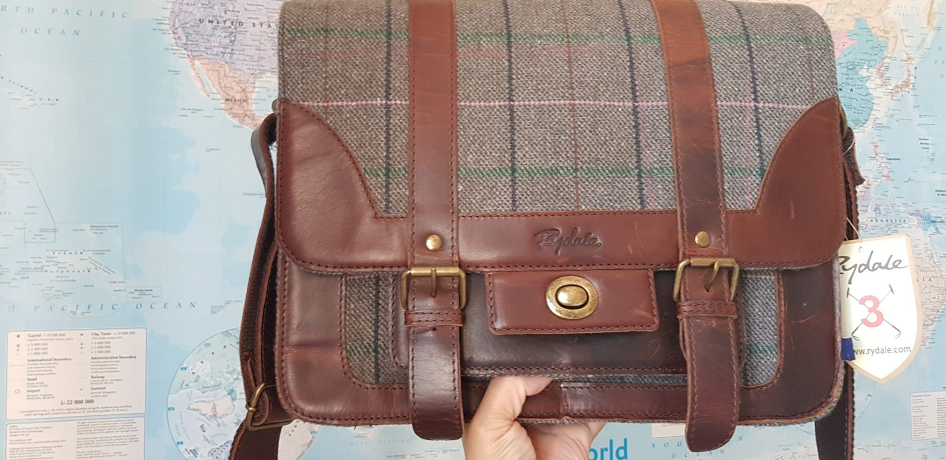 Review | Ladies Lucy Tweed Messenger Bag by Rydale