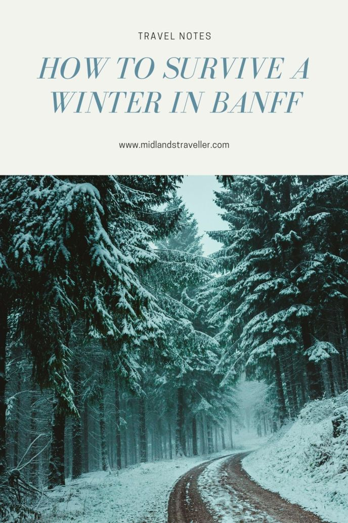 How to Survive a Winter in Banff