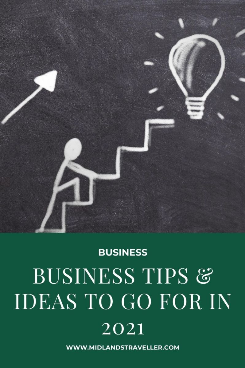 Business Tips & Ideas to go for in 2021