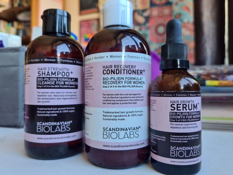 Hair Growth Routine | Scandinavian Biolabs
