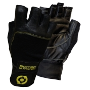 Scitec - leather yellow style gloves