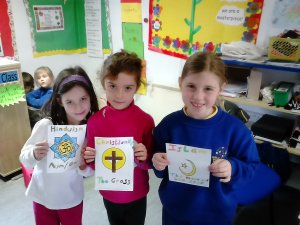 1st class M Aisling world religion day (6)