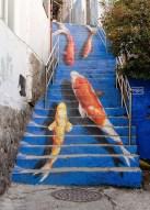 Fish steps, Seoul, South Korea Photography by Kevin Lowry