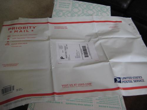 Return Envelope by Mid-Life Blogger