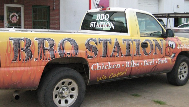 BBQ Station Truck by Mid-Life Blogger