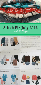 Stitch Fix July 2016