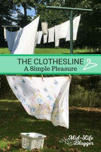 The Clothesline ~ A Simple Pleasure