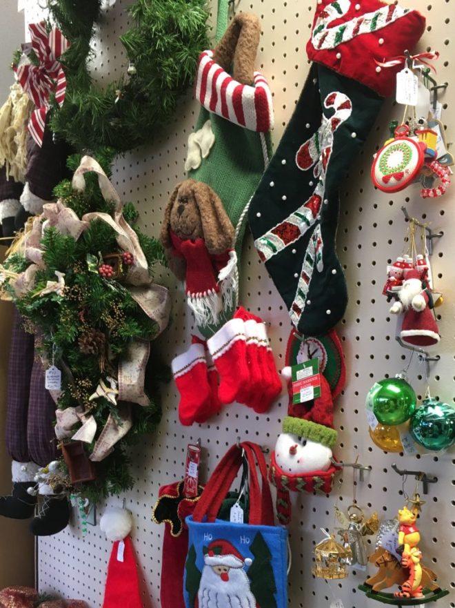 Flea Market Christmas Decorations