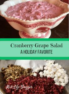 Cranberry-Grape Salad ~ A Holiday Favorite