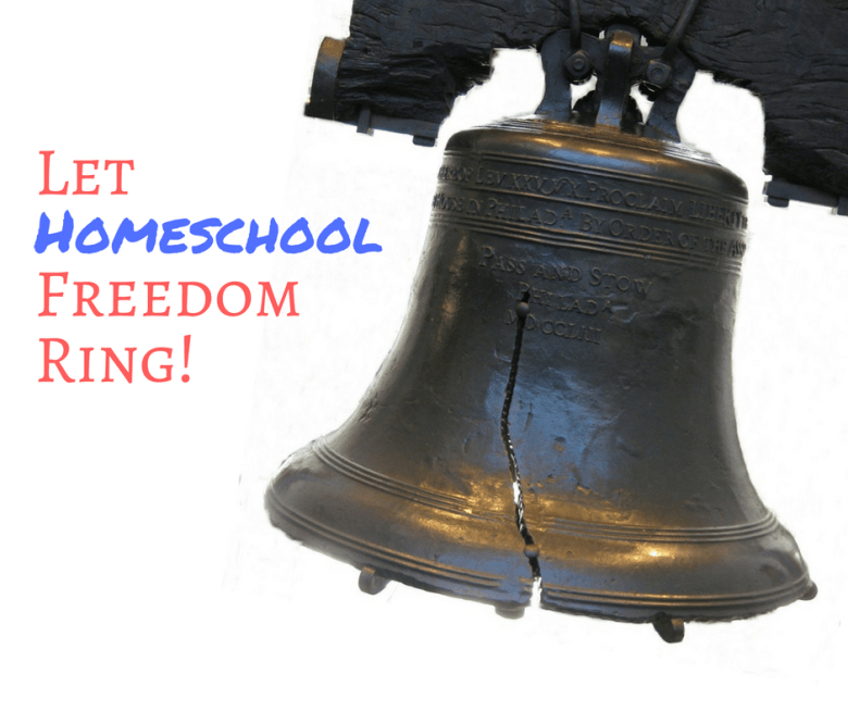 Let Homeschool Freedom Ring