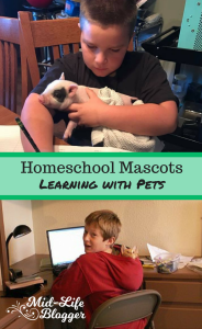 Homeschool Mascots ~ Learning with Pets