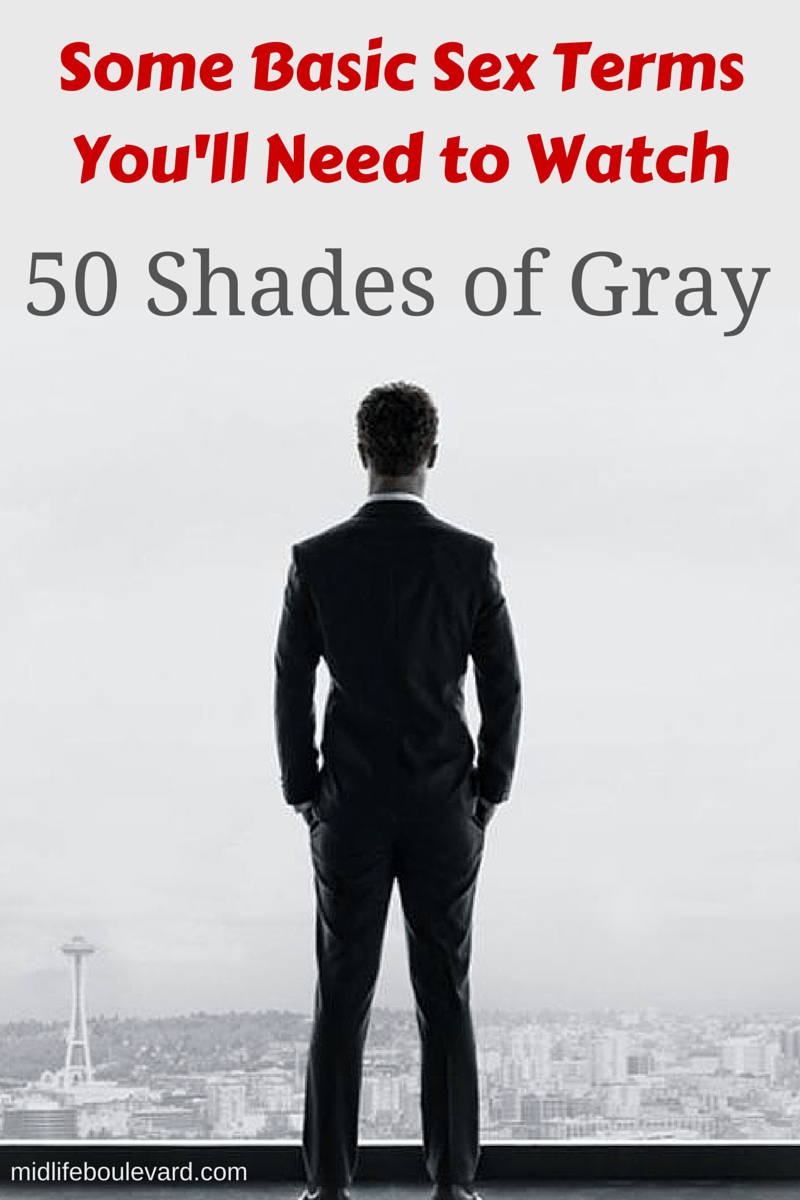 some basic sex terms you ll need to watch shades of grey 50 shades of grey here s a very basic primer on sex related terms you might on the internet my disclaimer there are many definitions and nuances