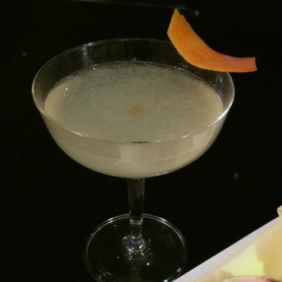 Queen Bee's Knees Cocktail