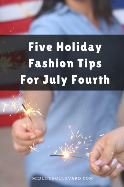 Fourth of July Fashion Tips