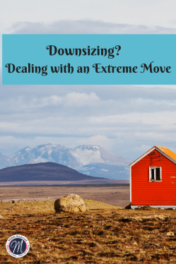 Are you downsizing?