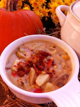 Delicious Potato Corn Chowder