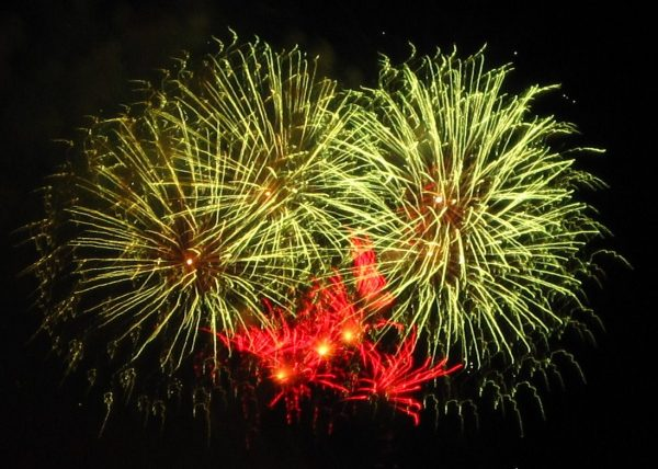 Celebrate the 4th of July in Philadelphia with fireworks.