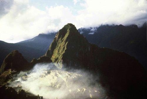 Machu Picchu, Peru, from the Sun Gate