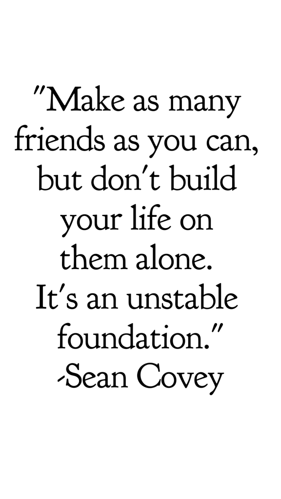 Relationship advice from a therapist on how to get over the end of a friendship. Getting over the heartbreak of a broken friendship is real. friendship quotes breakup quotes Friendship breakup quotes sad end of friendship relationships, ending a relationship, how to break up with someone, unhappy relationship, midlife, Sean Covey quote