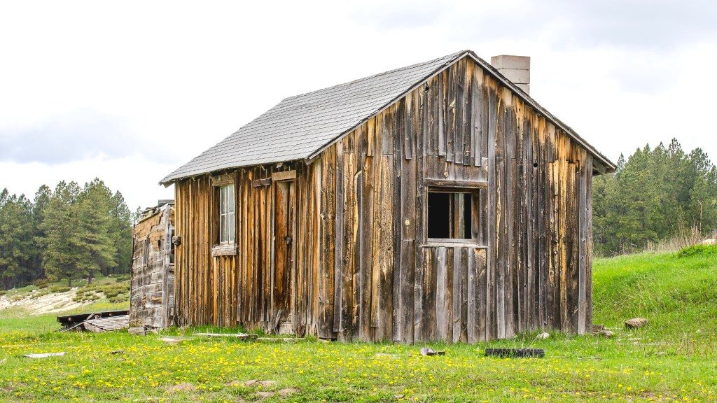 old cabin in the country
