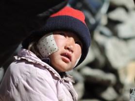 Kid in Manang - Nepal