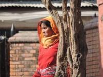 Woman in Pashupatinath Temple