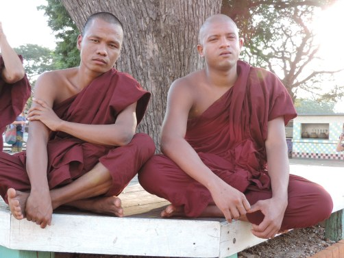 Buddhist Monks - Burma