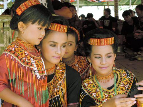 Torajan Funeral Attire, Tana Toraja, South Sulawesi, Indonesia