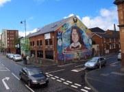 Murals everywhere in Belfast