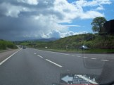 The main roads are so wide, you can almost overtake without going in other lane