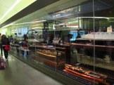 Fascinating moving display of boat models, Riverside Museum, Glasgow
