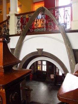 Whale Bone Arch, People's Palace, Glasgow