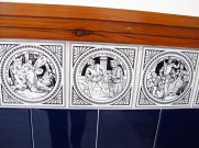 Tiles in toilets at People's Palace, Glasgow