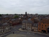 View from Cliffords Tower, York