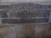 Plaque, Bath Abbey