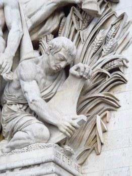 Detail, Arc de Triomphe
