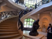 staircase in the petit palais paris