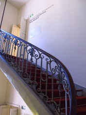 stairs and railings in Paris