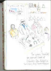 Back in Ushuaia sketch