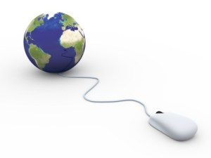 Midlothian Middle PTA Links - Mouse connected to globe